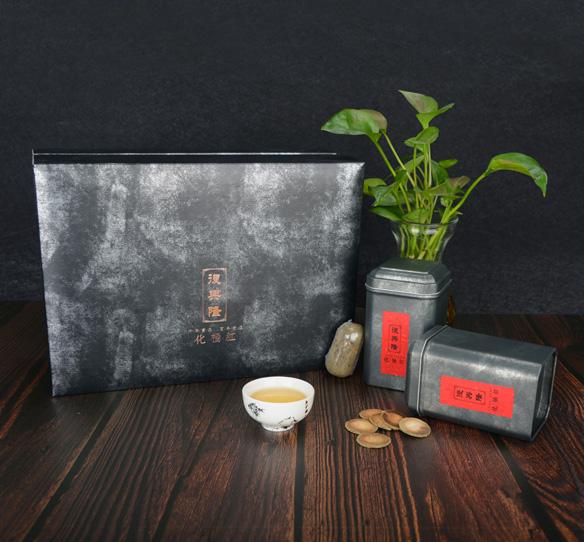 陈年特级化橘红片礼盒 180克 1308元