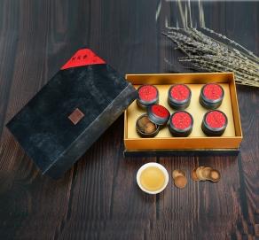 陈年特级化橘红片礼盒120克  750元